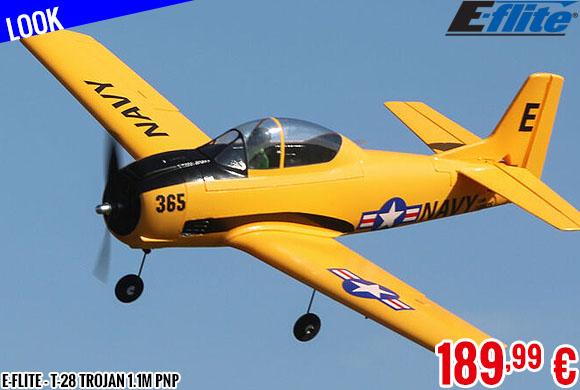 Look - E-Flite - T-28 Trojan 1.1m PNP