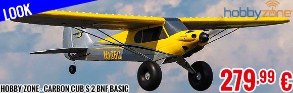 Look - Hobby Zone - Carbon Cub S 2 BNF Basic