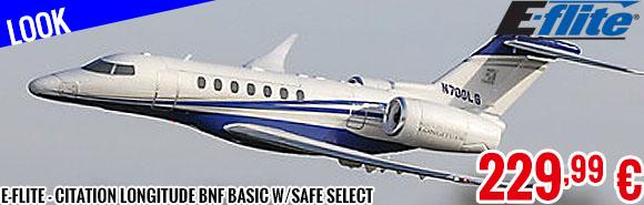 Look - E-Flite - Citation Longitude BNF Basic w/SAFE Select