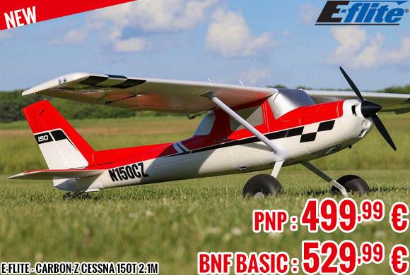 New - E-Flite - Carbon-Z Cessna 150T 2.1m