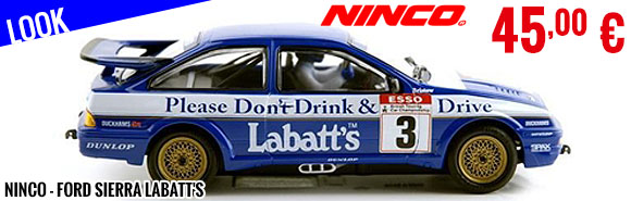 Look - Ninco - Ford Sierra Labatt's