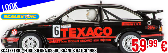 Look - Scalextric - Ford Sierra RS500 Brands Hatch 1988
