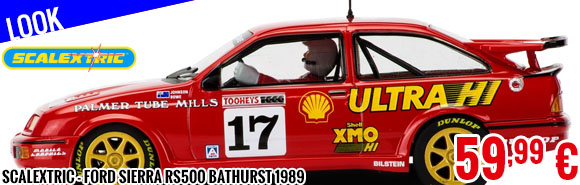 Look - Scalextric - Ford Sierra RS500 Bathurst 1989