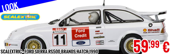 Look - Scalextric - Ford Sierra RS500 Brands Hatch 1990