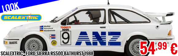 Look - Scalextric - Ford Sierra RS500 Bathurst 1988