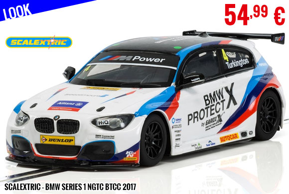 Look - Scalextric - BMW Series 1 NGTC BTCC 2017