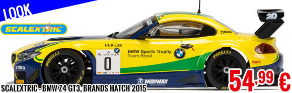 Scalextric - BMW Z4 GT3, Brands Hatch 2015