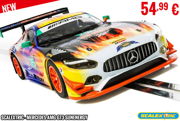 New - Scalextric - Mercedes AMG GT3 Sunenergy