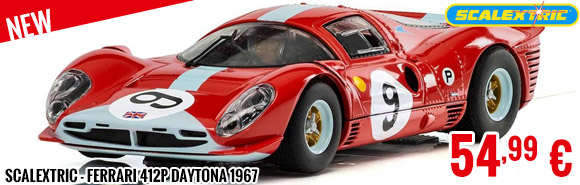 New - Scalextric - 412P Daytona 1967