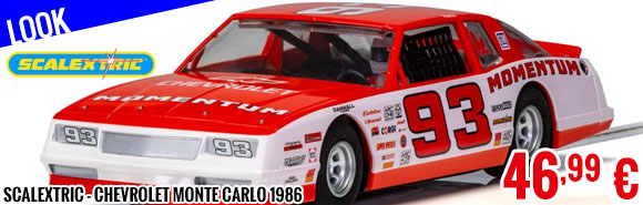 Look - Scalextric - Chevrolet Monte Carlo 1986