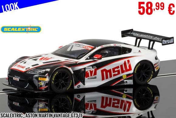 Look - Scalextric - Aston Martin Vantage GT3 TF