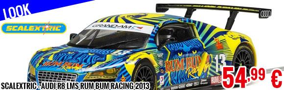 Look - Scalextric - Audi R8 LMS Rum Bum Racing 2013