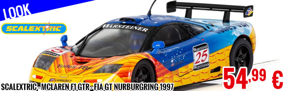 Look - Scalextric - McLaren F1 GTR - FIA GT Nurburgring 1997