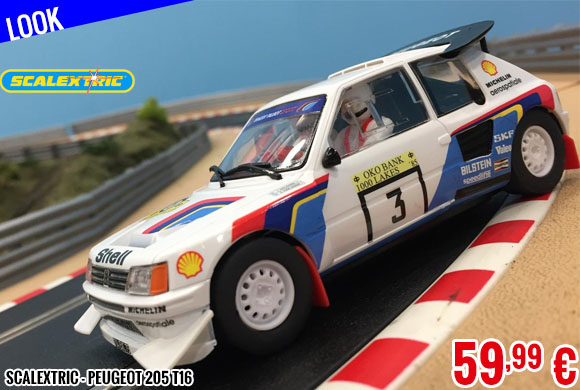 Look - Scalextric - Peugeot 205 T16
