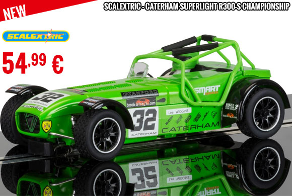 Look - Scalextric - Caterham Superlight R300-S Championship
