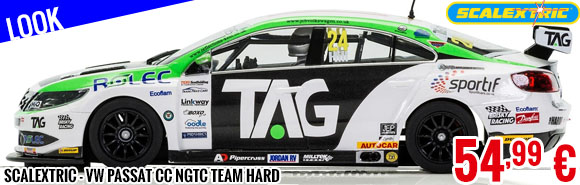 Look - Scalextric - VW Passat CC NGTC Team Hard