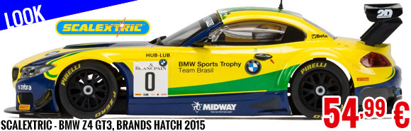 Look - Scalextric - BMW Z4 GT3, Brands Hatch 2015