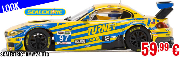 Look - Scalextric - BMW Z4 GT3