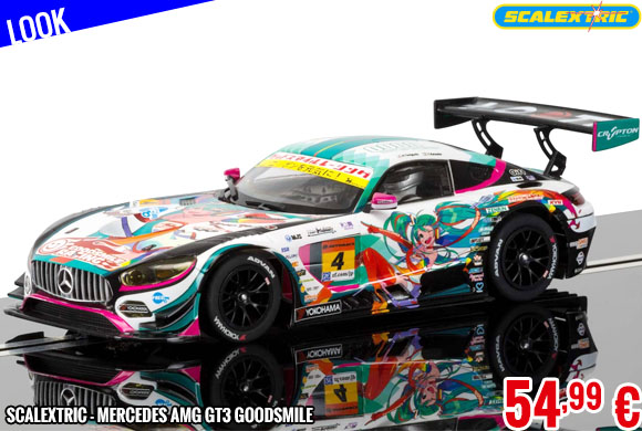 Look - Scalextric - Mercedes AMG GT3 Goodsmile