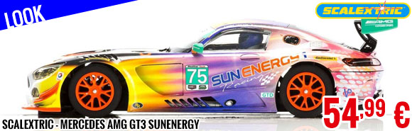 Look - Scalextric - Mercedes AMG GT3 Sunenergy