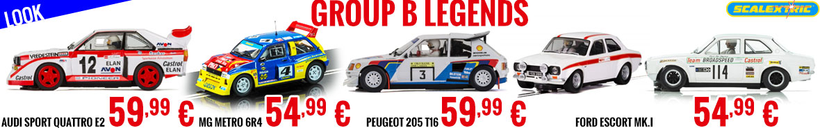 Look - Scalextric - Group B legends