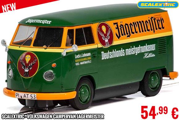 New - Scalextric - Volkswagen Campervan Jagermeister