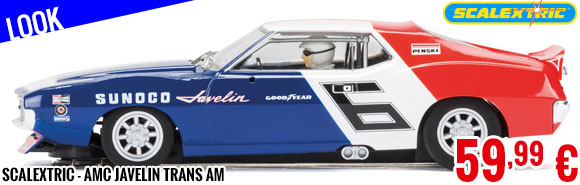 Look - Scalextric - AMC Javelin Trans Am
