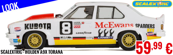 Look - Scalextric - Holden A9X Torana