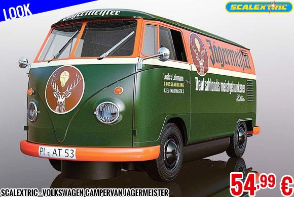 Look - Scalextric - Volkswagen Campervan Jagermeister