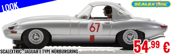 Look - Scalextric - Jaguar E-Type Nürburgring
