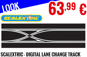 Look - Scalextric - Digital Lane Change Track Straight