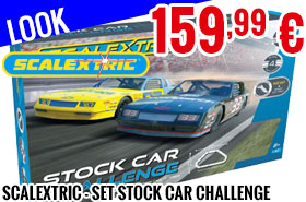 Look - Scalextric - Set Stock Car Challenge