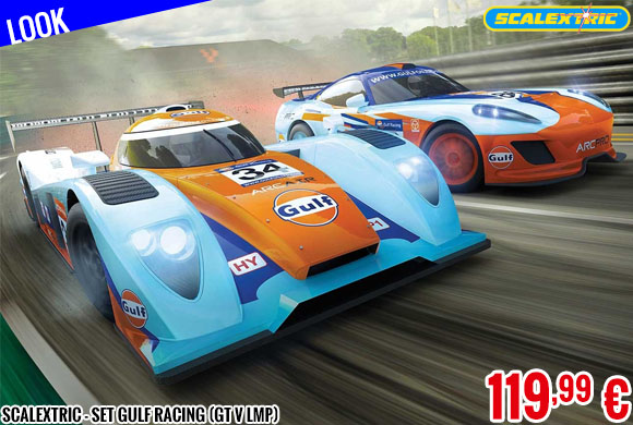 Look - Scalextric - Set Gulf Racing (GT V LMP)
