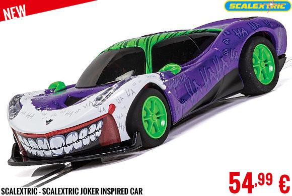 New - Scalextric - Scalextric Joker Inspired Car