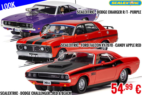 Look - Scalextric Muscle Cars