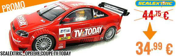 Promo - Scalextric - Opel V8 Coupé TV Today