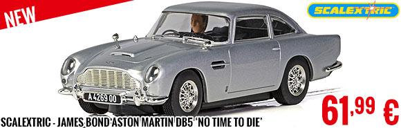 New - Scalextric - James Bond Aston Martin DB5 'No Time To Die'