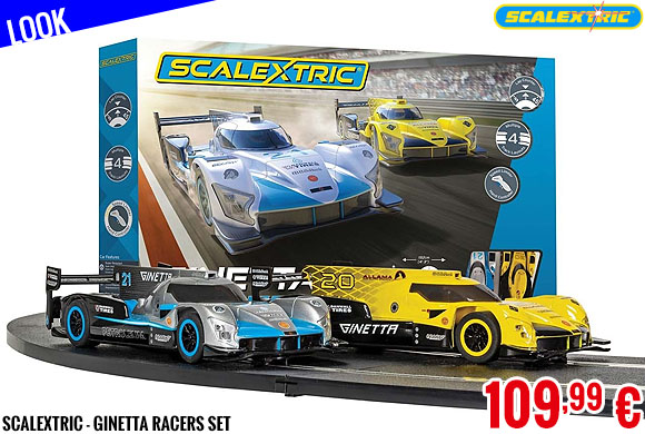 Look - Scalextric - Ginetta Racers Set