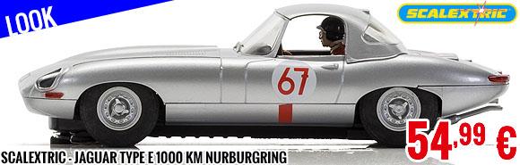 Look - Scalextric - Jaguar type E 1000 km Nurburgring