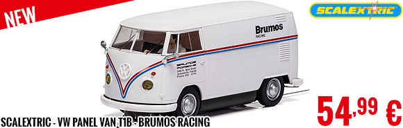 New - Scalextric - VW Panel Van T1b - Brumos Racing