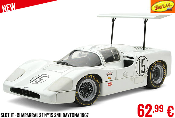 New - Slot.it - Chaparral 2F N°15 24H Daytona 1967