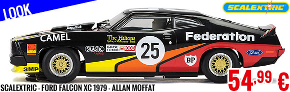 Look - Scalextric - Ford Falcon XC 1979 - Allan Moffat