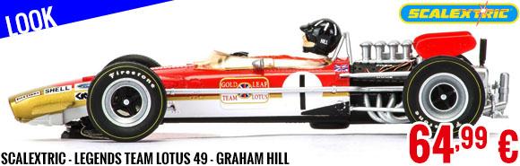 Look - Scalextric - Legends Team Lotus 49 - Graham Hill