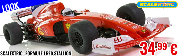 Look - Scalextric - Formule 1 Red Stallion