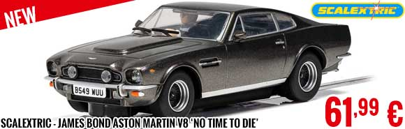 New - Scalextric - James Bond Aston Martin V8 'No Time To Die'