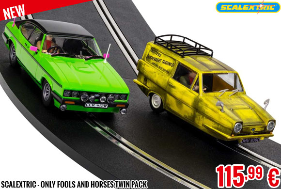 New - Scalextric - Only Fools And Horses Twin Pack