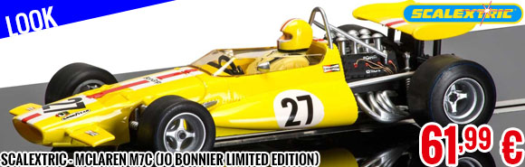 Look - Scalextric - McLaren M7c (Jo Bonnier Limited Edition)