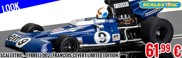 Look - Scalextric - Tyrrell 002 (François Cevert Limited Edition)