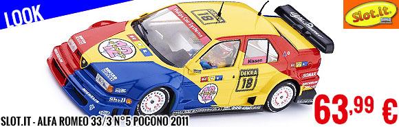 Look - Slot.it - Alfa Romeo 155 V6TI n°18 Zolder DTM 1994