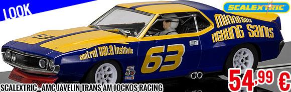 Look - Scalextric - AMC Javelin Trans Am Jockos Racing